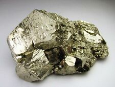 PYRITE PENTADODECAHEDRAL with MINOR CRYSTALS SECOND GENERATION from ........PERU