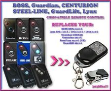 BOSS BHT4 2211-L / GUARDIAN / LYNX / STEEL LINE 303mhz compatible remote control