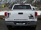 Whitetail Deer Bow Hunter tree stand Window Tailgate Set 3 Large Decals Stickers