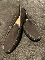 Men's 12 Stacy Adams Brown Suede Loafers