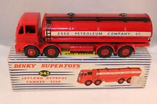 """Dinky Toys 943 Leyland Octopus Tanker """"ESSO"""" near mint all original condition"""