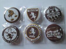 j10 lotto 6 pins lot TORINO FC club spilla football calcio pins spille toro cm 4