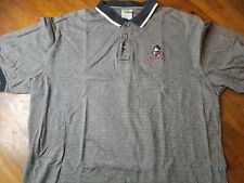 The Disney Store Mickey Mouse Short Sleeve Golf Polo Shirt Mens Sz XL Gray Black
