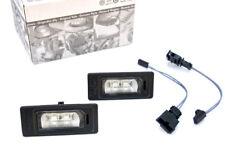 NEU Original Audi RS4 TT RS6 LED Kennzeichen Adapter A4 A6 Q5 RS5 A1 LED Leuchte