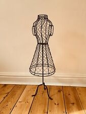 Vintage, Haberdashery, Wire Mannequin, industrial, shop display, Dress Maker,