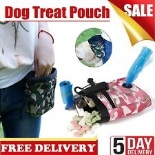 Dog Walking Training Obedience Treat Pouch Portable Pet Puppy Snack Belt Bag