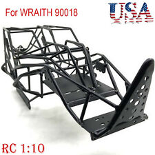 Metal Chassis Roll Cage Frame Body for AXIAL WRAITH 90018 1/10 RC Crawler Car US