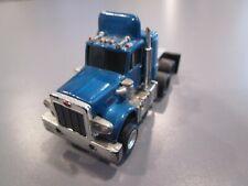 Vintage Aurora Afx Peterbilt Semi Truck Custom Paint Blue