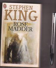Stephen King - Rose Madder - Thriller, Terreur - Eric Scala en couverture .