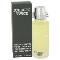 FragranceX ICEBERG TWICE by Iceberg,Eau De Toilette Spray 4.2 oz, For Men