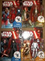 Star Wars The Force Awakens Kylo Ren Unmasked Han Solo Finn FN-2187 Nien Nunb