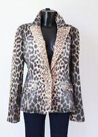 Roberto Cavalli Leopard Print Jacket Large / UK 14