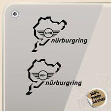 STICKER NÜRBURGRING MINI COOPER SPORT VINYL DECAL VINYL STICKER AUTOCOLLANT