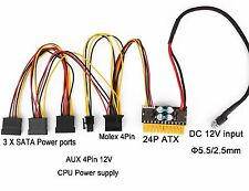 mini itx 24 pin 100 249 w computer power supplies for sale ebaydc pc atx power supply for car atom htpc mini itx pico psu unit in 12v
