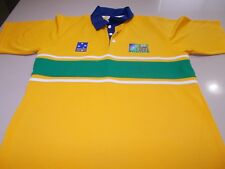 WALLABIES - AUSTRALIA RUGBY WORLD CUP 2003 POLO SHIRT - MED -SEE DESC FOR SIZING