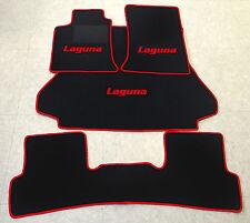 2001-2007 Anthrazit Fußmatten Autoteppiche Renault Laguna II Bj