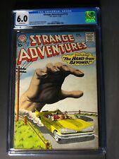 Strange Adventures  #110  CGC 6.0  November 1959  Silver Age!   Gil Kane Cover!