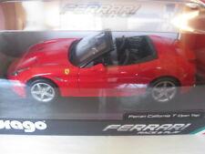 Burago Ferrari California Rot Race & Play #18-16007R  1:18 Neu in OVP Ungeöffnet