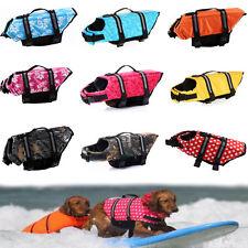 Pet Dog Puppy Life Jacket Safety Saver Vest Clothes Reflective Preserver Aquatic
