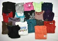 Wholesale Lot of 18 Women's Plus Size 1X Mixed Season Long & Short Sleeve Tops