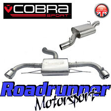 Cobra Sport Audi TT MK2 3.2 V6 Cat Back Exhaust System Stainless Resonated AU61
