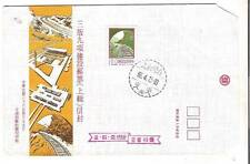 China Taiwan FDC-1977- Railway construction