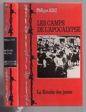 GUERRE 39/45 LES CAMPS DE L'APOCALYPSE LA REVOLTE DES JUSTES 1983 TREBLINKA