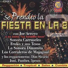 Se Prendio La Fiesta en La 8 BRAND NEW SEALED     CD