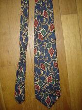 Pierre Cardin Paris Cravate en soie largeur maxi 9,5 cm longueur 150 cm made FR