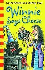 Winnie Says Cheese. Winnie The Witch Book Laura Owen Excellent Condition