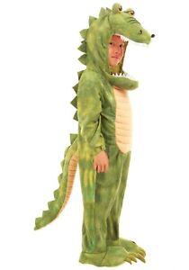 Kid's Alligator Crocodile Jumpsuit Costume SIZE M (Used)