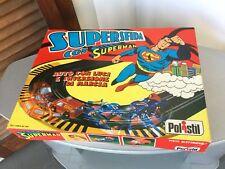 1980#RARE VINTAGE POLISTIL TYCO DC COMICS OFFICIAL SUPERMAN TRACK MEGO STYLE#NIB