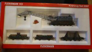 Fleischmann H0 Kranzug-Set 5597