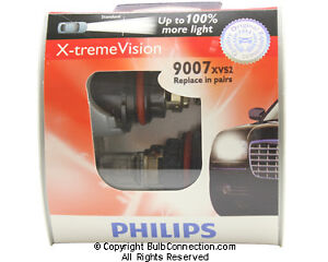 NEW Philips 9007 Extreme Vision 2-Pack 9007XVS2 Bulb