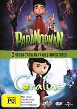 Paranorman / Coraline DVD NEW R4 *2 Movie Collection*