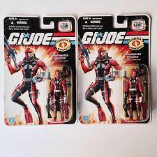 GI Joe 25th Anniversary UNDERWATER TROOPER Cobra diver MOC 2008 - 2 SEALED PACKS