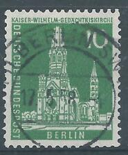 """Berlin MiNr. 144 gestempelt, """"Berlin SW 17.5.58"""""""