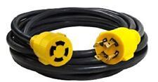 MaxWorks 80841 25 Ft. Heavy Duty 4-Prong Twist Lock 125V/250V 30 Amp L14-30P (Ma