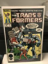 New ListingThe Transformers #7 And 9 1985, Marvel First Circuit Breaker. Nm-Nice