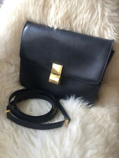Classic Céline Box Bag in schwarz, große Version/ black, big size version