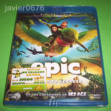 EPIC EL MUNDO SECRETO BLU-RAY + DVD  NUEVO Y PRECINTADO
