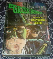THE GREEN HORNET  CASE OF THE DISAPPEARING DOCTOR  1966  WHITMAN TV BOOK