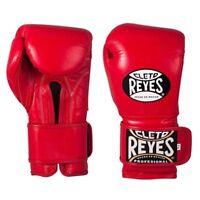 Cleto Reyes Velcro Boxing Gloves Adult Red Sparring Gloves 10oz 12oz 14oz 16oz