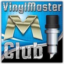 Vinyl Master Club Membership (1 month) VinylMaster Xpt V4 RIP Print Cut Software