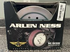 Arlen Ness Big Sucker Stage 2 Air Cleaner Kit without Cover Chrome #18-823