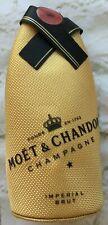 Moet Chandon Champagne Bottle Insulated Chiller Cooler Zip Cover Jacket Koozie