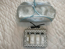 WHITE COLLECTION IN TRAVEL SIZE + COSMETIC BAG. BOTH BRAND NEW