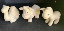 Precious Moments 279323 - Camel, Cow and Donkey - Christmas Mini Nativity NIB