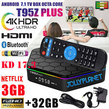 T95Z PLUS Android 7.1 3GB 32GB Octa Core 4K Smart TV Box S912 Dual WiFi