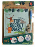Wild Animal Kingdom Kids Top Secret Diary Lockable Invisible Ink Writer *New